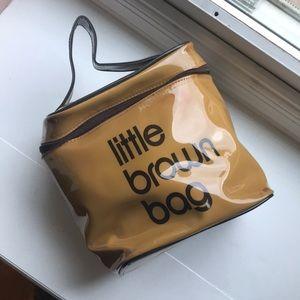 Bloomingdale's Little Brown Bag Cosmetics Bag